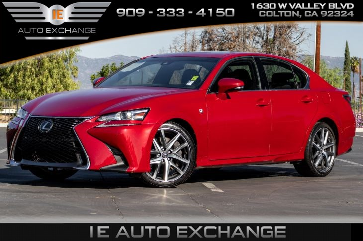 2018 Lexus GS 350 F SPORT (w/ Heated Seats, Sport Drive Mode)