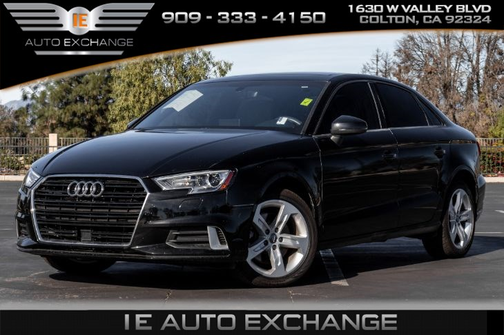 2018 Audi A3 Sedan 2.0T Premium S Tronic (w/ Back-up Camera, Apple CarPlay, Android Auto)