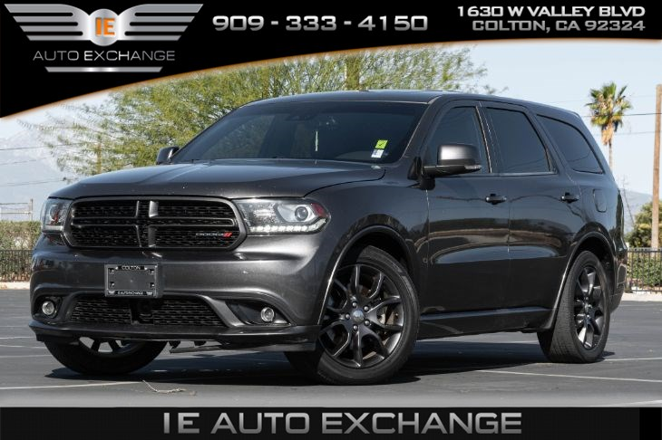 2016 Dodge Durango R/T (w/ Quick Order Package, Navigation, Bluetooth)