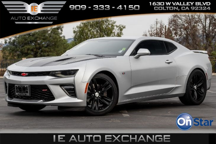2018 Chevrolet Camaro 1SS (w/ Apple CarPlay, Android Auto, V8 Engine))