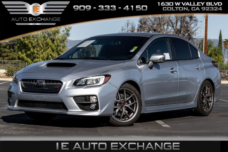 [TVPR_3874]  Sold 2016 Subaru WRX STI Limited Manual (w/ Lip Spoiler, Heated Front  Seats) in Colton | 2016 Subaru Wrx Without Wing |  | IE Auto Exchange