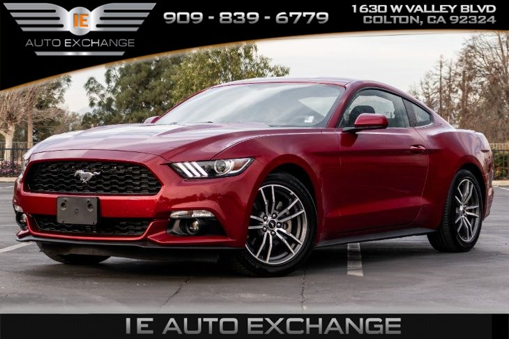 2017 Ford Mustang EcoBoost (w/ Turbocharged Engine, Back-up Camera)