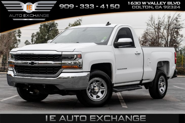 2016 Chevrolet Silverado 1500 LS (w/ LS Convenience Package, Back-up Camera)