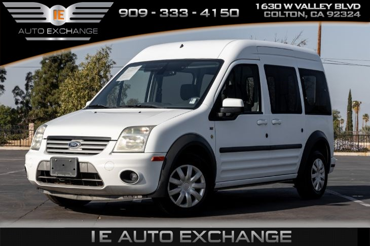 2012 Ford Transit Connect Wagon XLT Premium (w/ Back-up Camera, Cloth Interior)