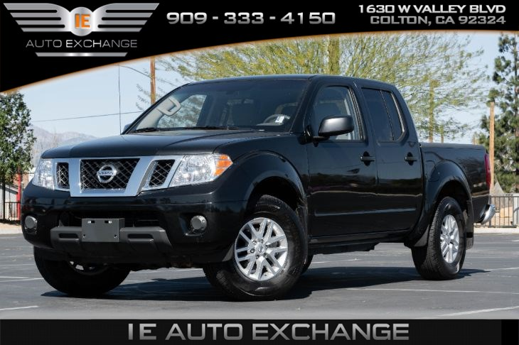2019 Nissan Frontier SV 4x4 (w/ Trailer Hitch Package, Bluetooth)