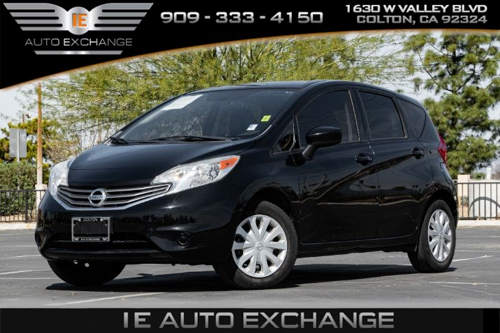 2016 Nissan Versa Note HB CVT SV (w/ Back-up Camera, Bluetooth, MP3 USB Port)