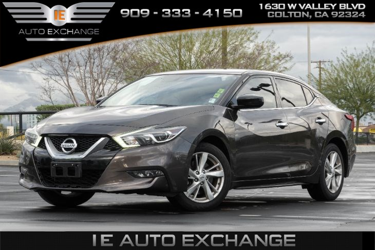 2016 Nissan Maxima 3.5 S (w/ Back-up Camera, Bluetooth)
