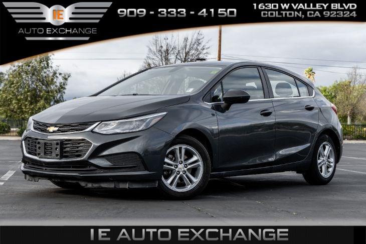 2017 Chevrolet Cruze FWD LT (w/ Bluetooth, Back-up Camera)