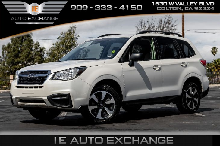 2017 Subaru Forester (w/Alloy Wheel Package, Back-up Camera, Bluetooth)
