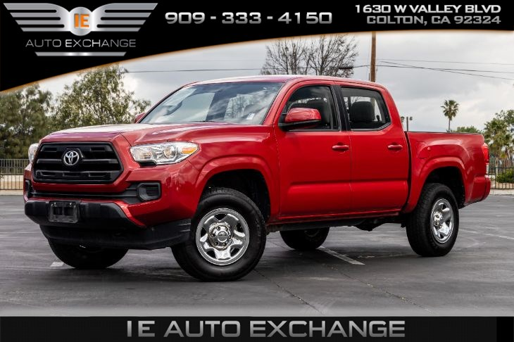 sold 2017 toyota tacoma sr5 w sr convenience package tow package in colton 2017 toyota tacoma sr5 w sr convenience package tow package ie auto exchange