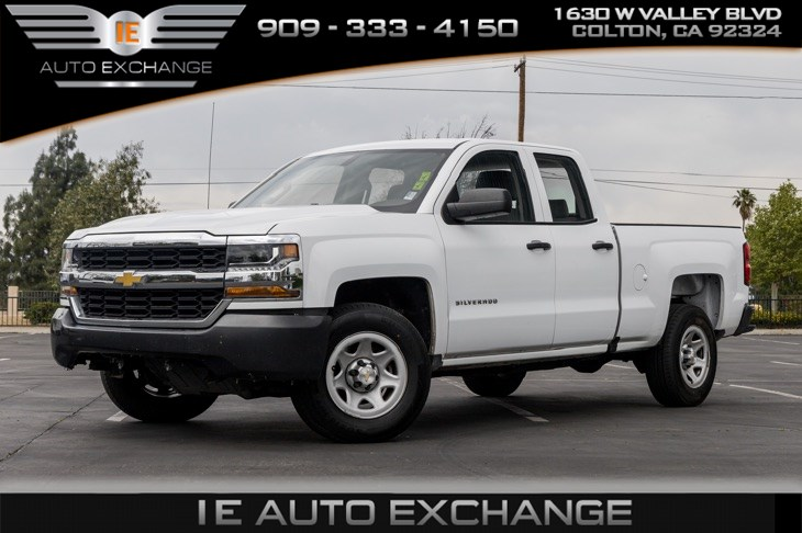 2018 Chevrolet Silverado 1500 Work Truck (w/ Bluetooth, Back-up Camera)
