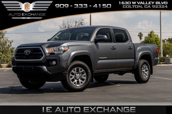 sold 2019 toyota tacoma 2wd sr5 w bluetooth back up camera in colton ie auto exchange