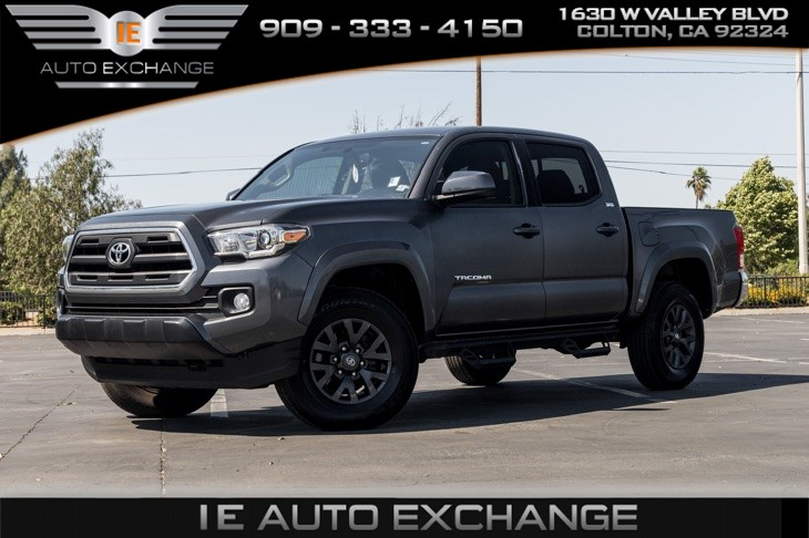 sold 2017 toyota tacoma sr5 w tow package navigation bluetooth in colton ie auto exchange