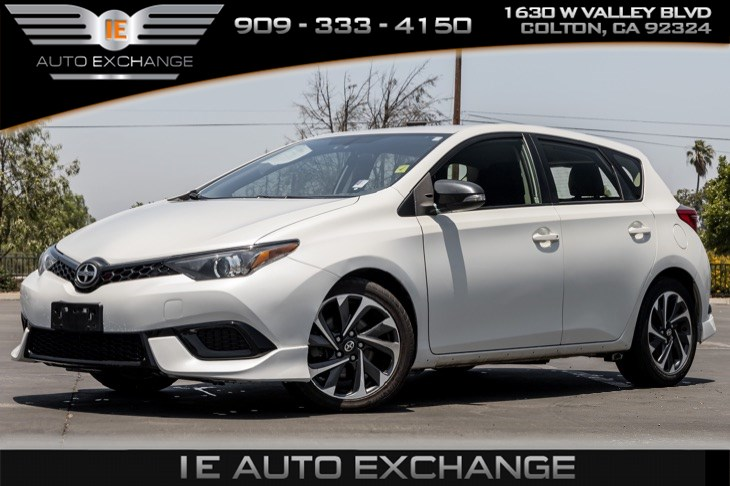 2016 Scion iM (w/ Back-up Camera, Bluetooth)