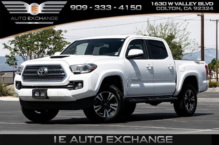 sold 2017 toyota tacoma trd sport w tow package navigation in colton ie auto exchange