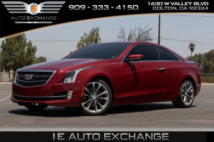 2015 Cadillac ATS Coupe 3.6 L Performance RWD (w/ Navigation, Heated Seats, Cadillac CUE)