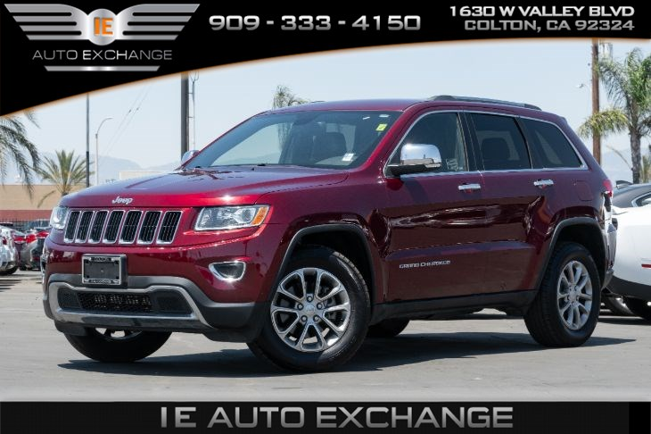2016 Jeep Grand Cherokee Limited RWD (w/ Quick Order Package, Roof Rack Rails)