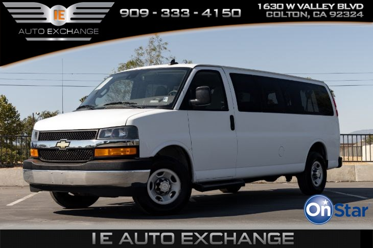 2019 Chevrolet Express Passenger LT (w/ 3rd Row Seat, 4th Row Seat, FlexFuel Capable)