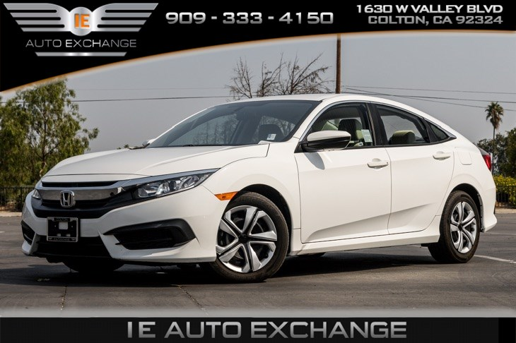 2017 Honda Civic Sedan LX (w/ Bluetooth, Back-up Camera)