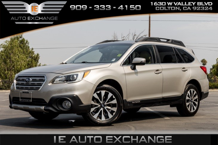 2017 Subaru Outback Limited (w/ Back-up Camera, Navigation, Bluetooth)