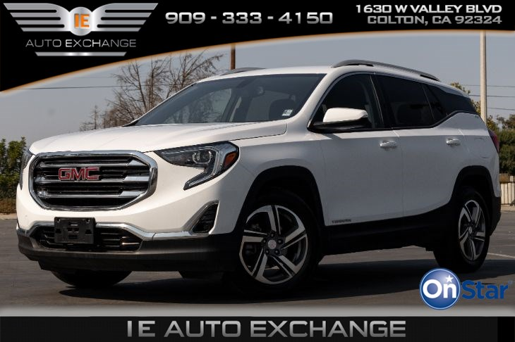 2019 GMC Terrain SLT (w/ Apple CarPlay, Android Auto, Roof Rack Rails)