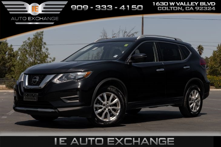 used 2019 nissan rogue sv w roof rack rails apple carplay android auto in colton ie auto exchange