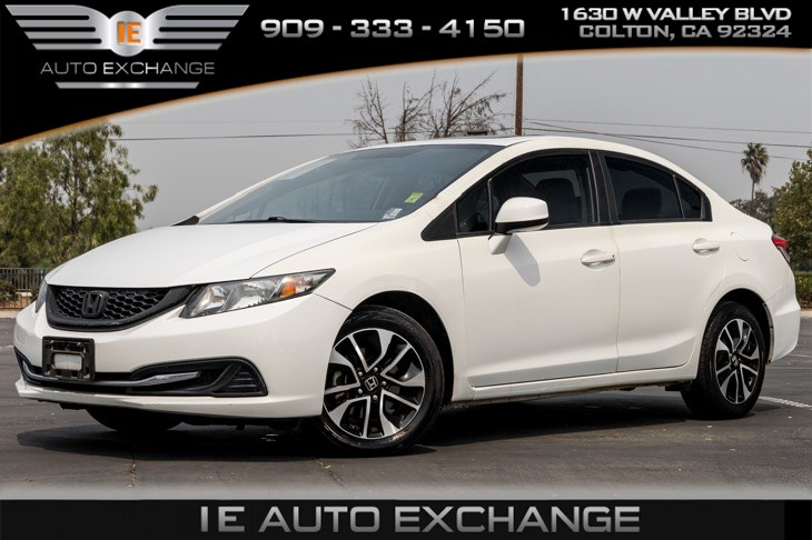 2013 Honda Civic Sdn EX (Back-up Camera, Bluetooth)