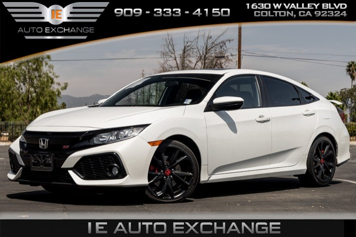 2018 Honda Civic Si Sedan (Back-up Camera, Bluetooth)
