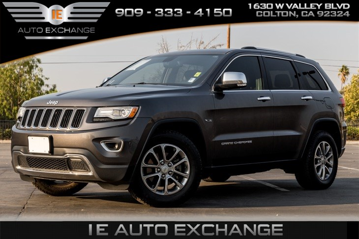 2014 Jeep Grand Cherokee Limited (Back-up Camera, Navigation, Bluetooth)