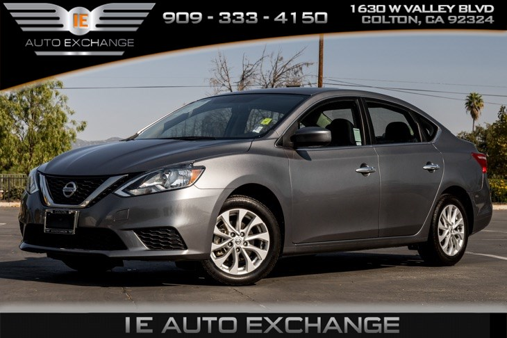 2017 Nissan Sentra SV (Style Package, Back-up Camera, Bluetooth)