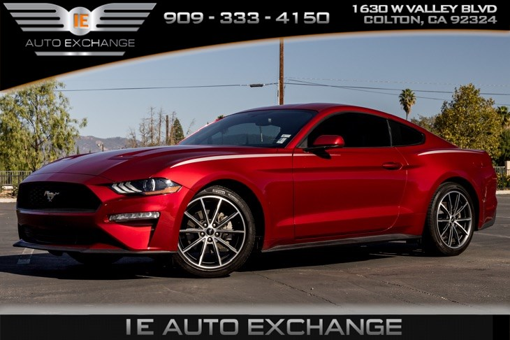 2019 Ford Mustang EcoBoost (Wheel & Stripe Package, Back-up Camera)
