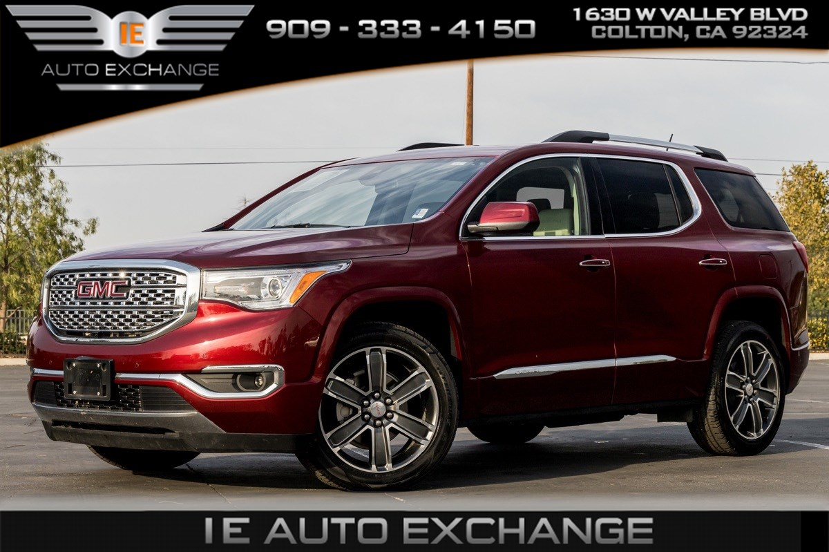 2018 GMC Acadia Denali (Tech Package, Sunroof, 360 Back-up Camera)