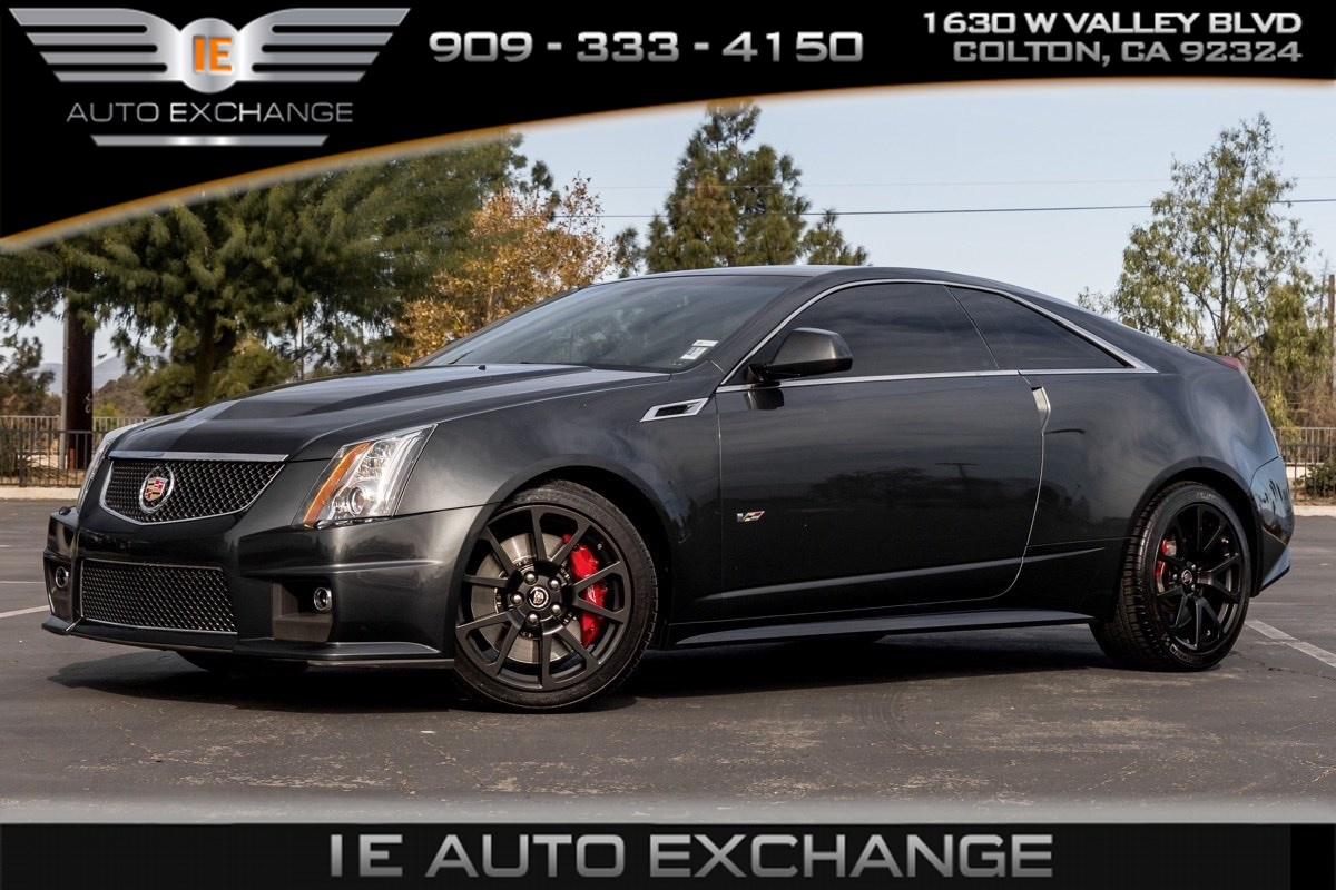 2015 Cadillac CTS-V Coupe (Navigation, Bose Audio, Power Sunroof)