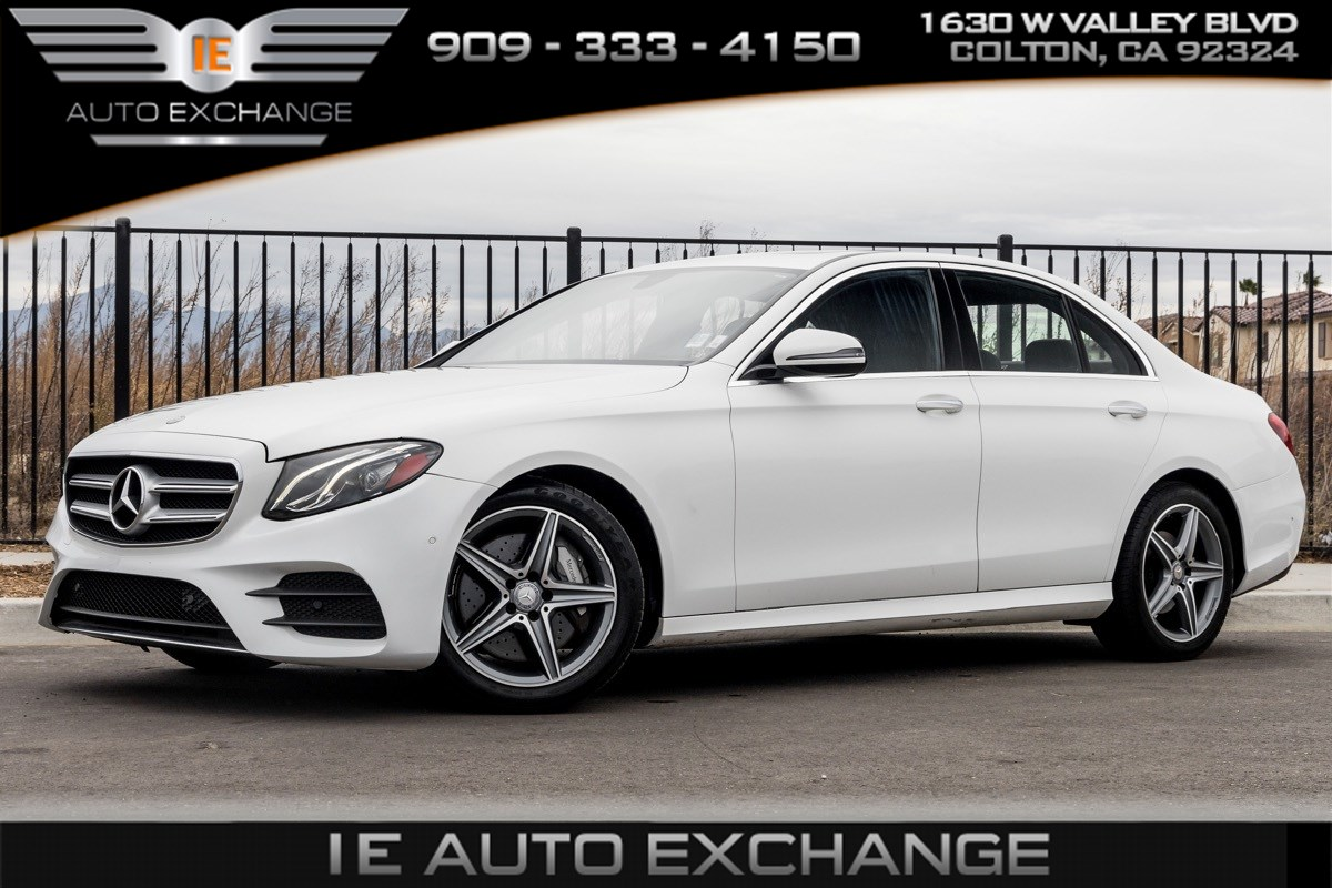 2017 Mercedes-Benz E 300 RWD Sedan (Premium 1 Package, Sport Wheel Package, Sunroof)