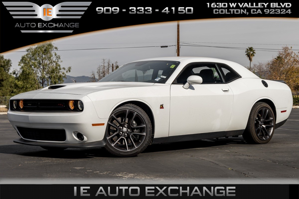 2020 Dodge Challenger R/T Scat Pack (Quick Order Package, Back-up Camera, Bluetooth)