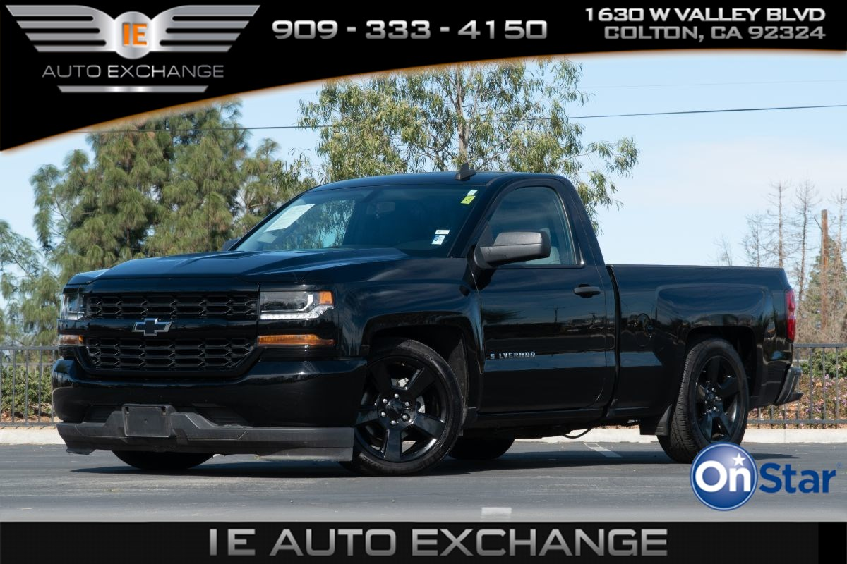 2018 Chevrolet Silverado 1500 Black Out Edition Work Truck