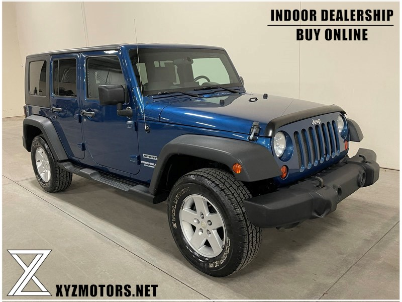 2010 Jeep Wrangler Unlimited Sport (Manual)