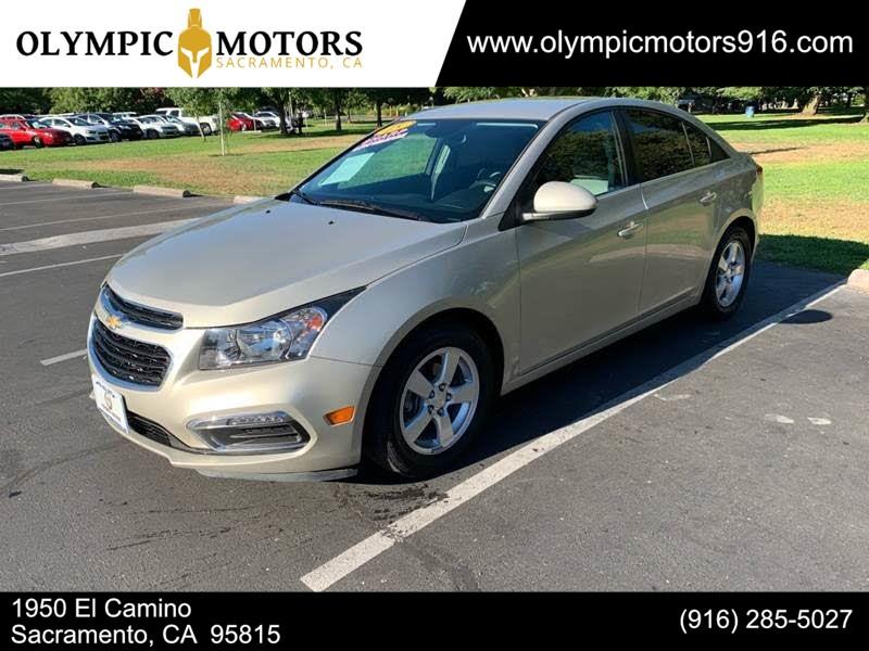2015 Chevrolet Cruze Lt Olympic Motors