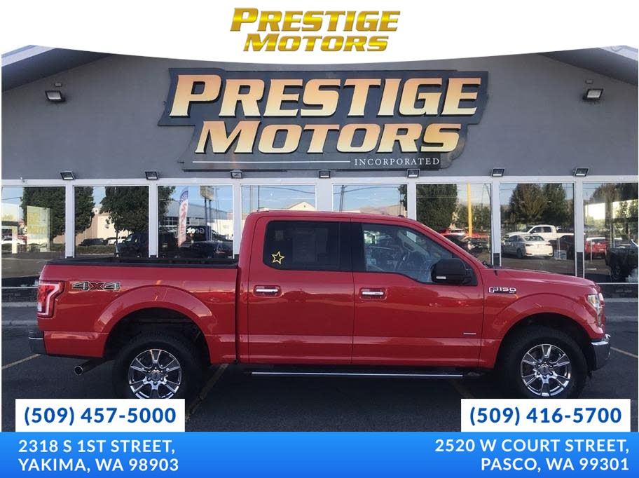 2015 Ford F-150 XLT Pickup 4D 5 1/2 ft