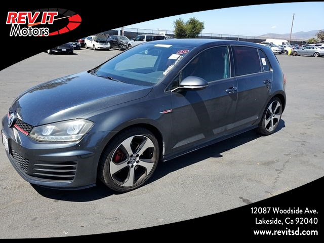 2015 Volkswagen Golf GTI Autobahn Hatchback Sedan 4D