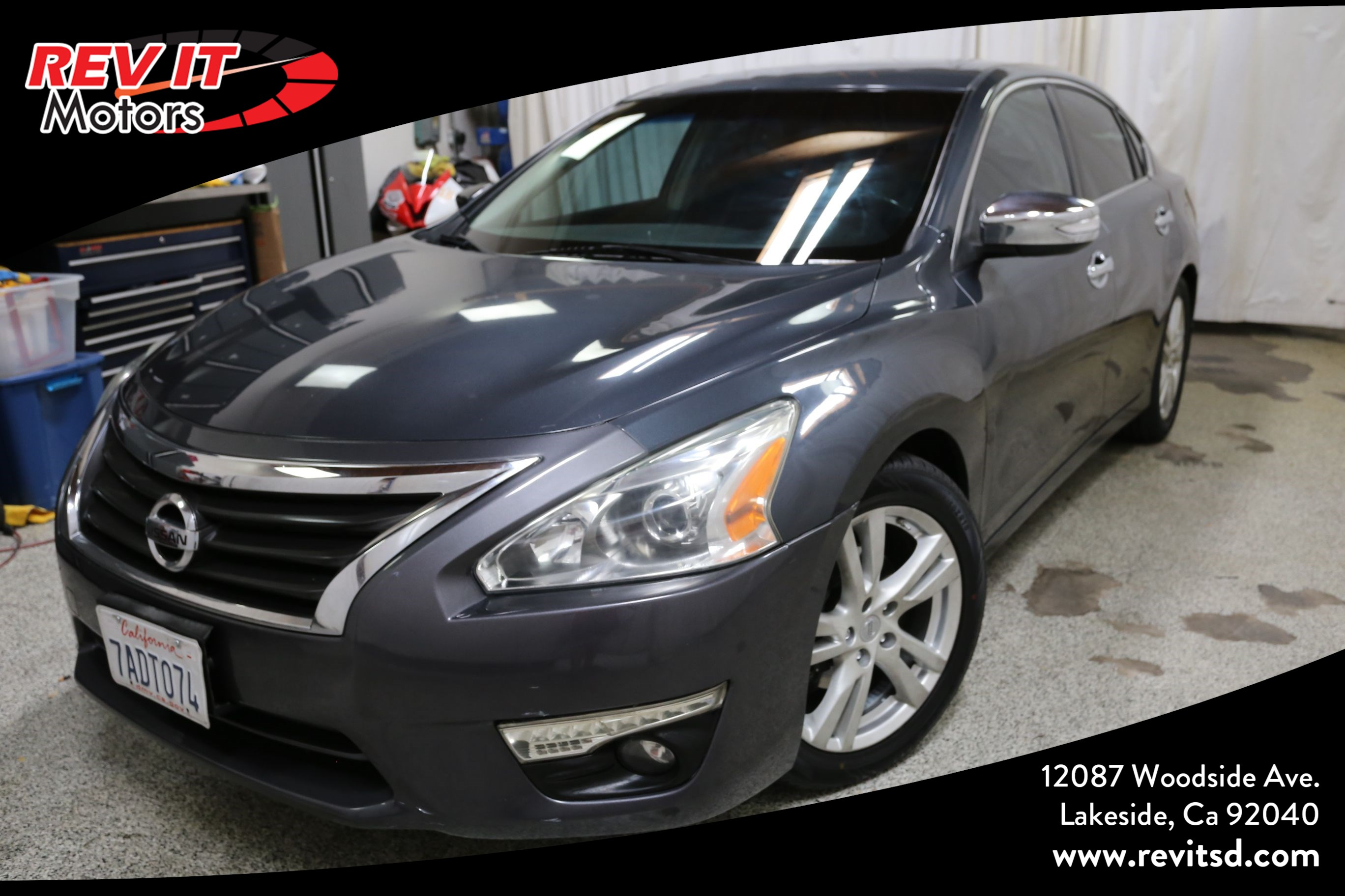 2013 Nissan Altima 3.5 SL Sedan 4D