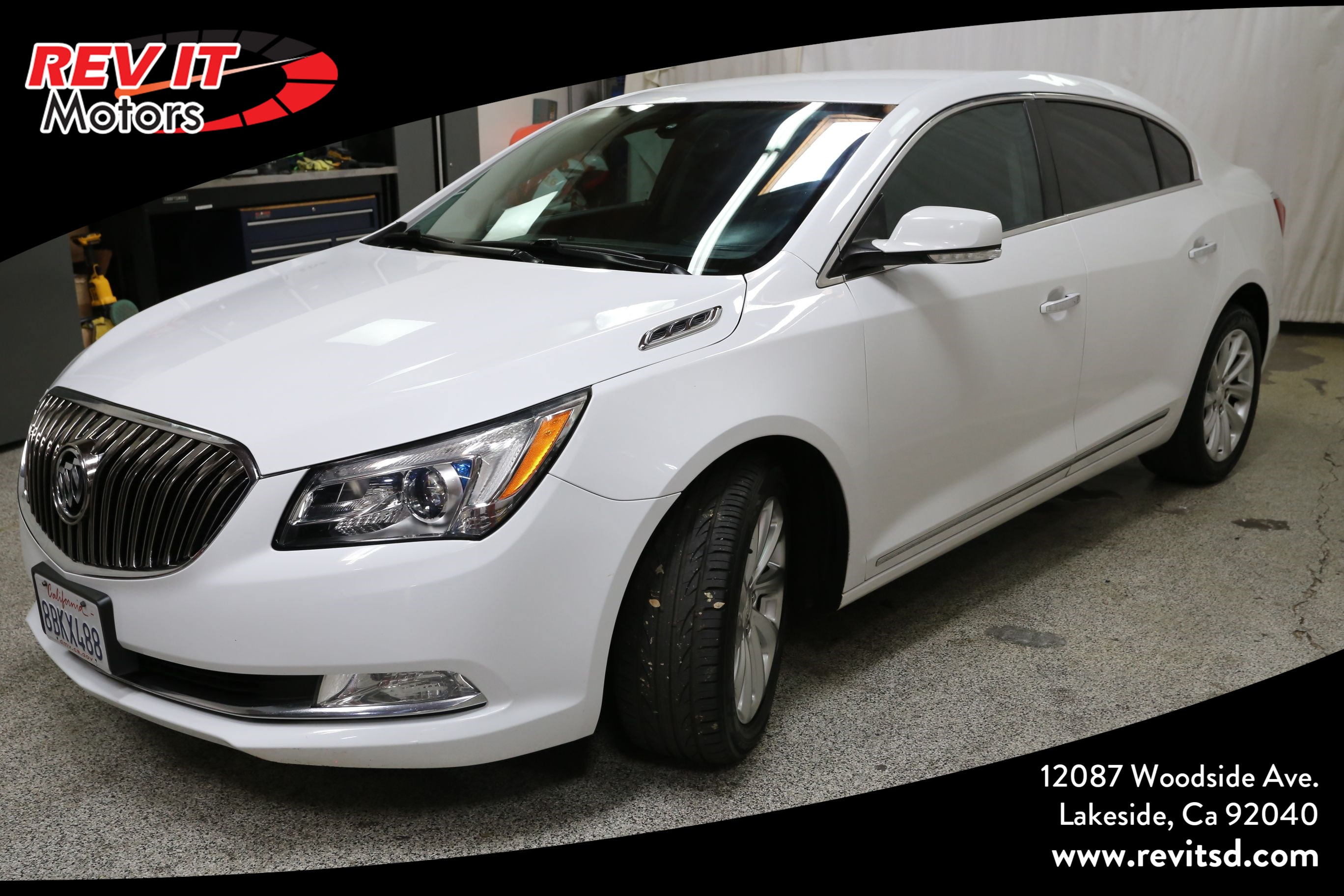 2014 Buick LaCrosse Leather Sedan 4D