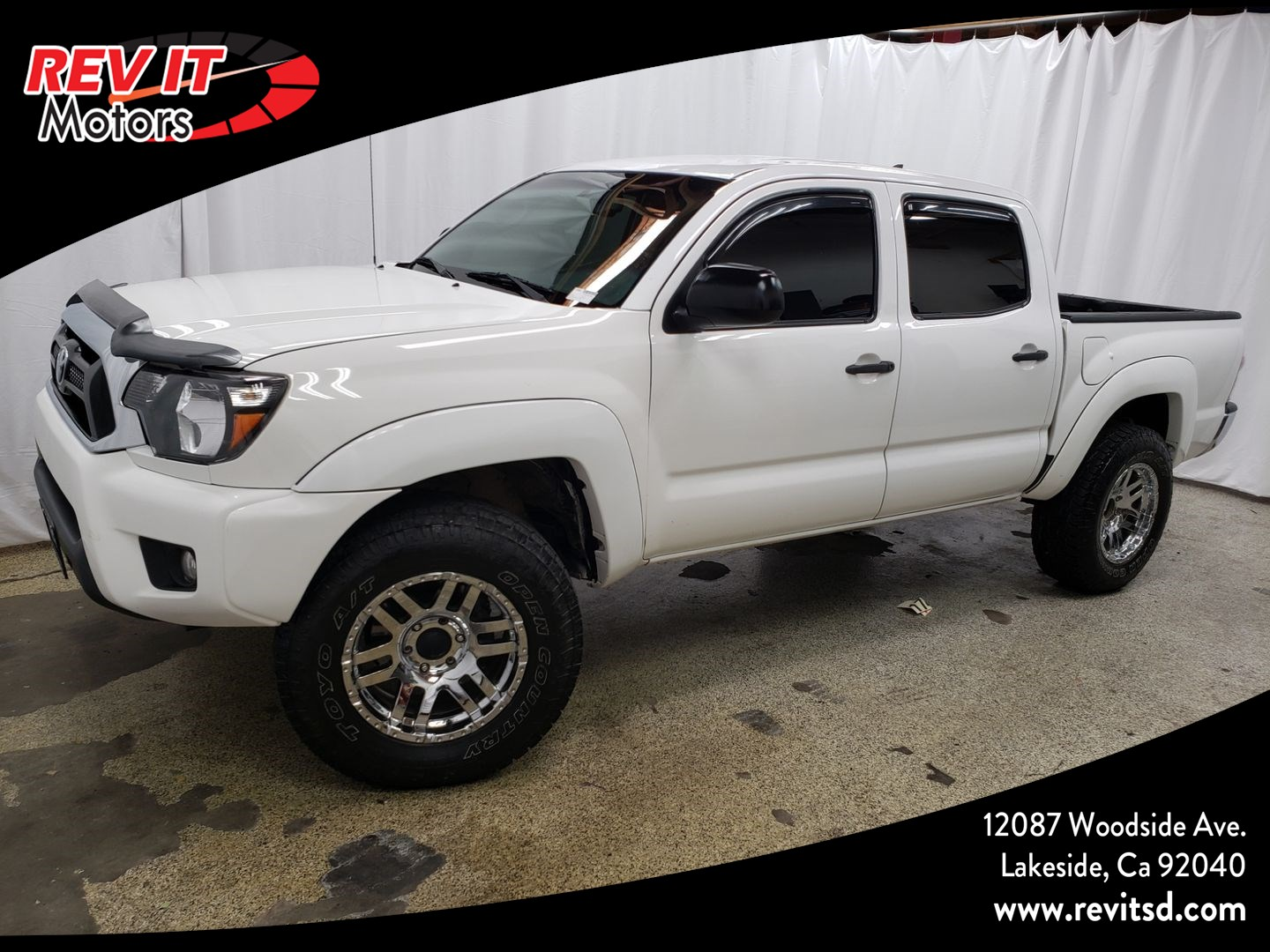 2015 Toyota Tacoma Pickup 4D 5 ft