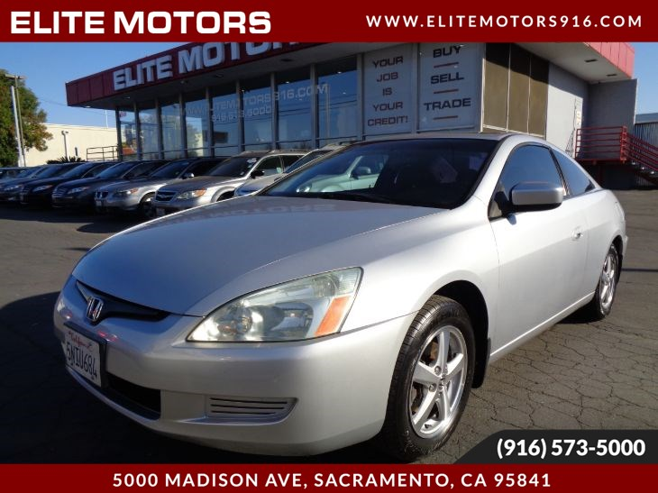 2005 Honda Accord Cpe EX w/Leather