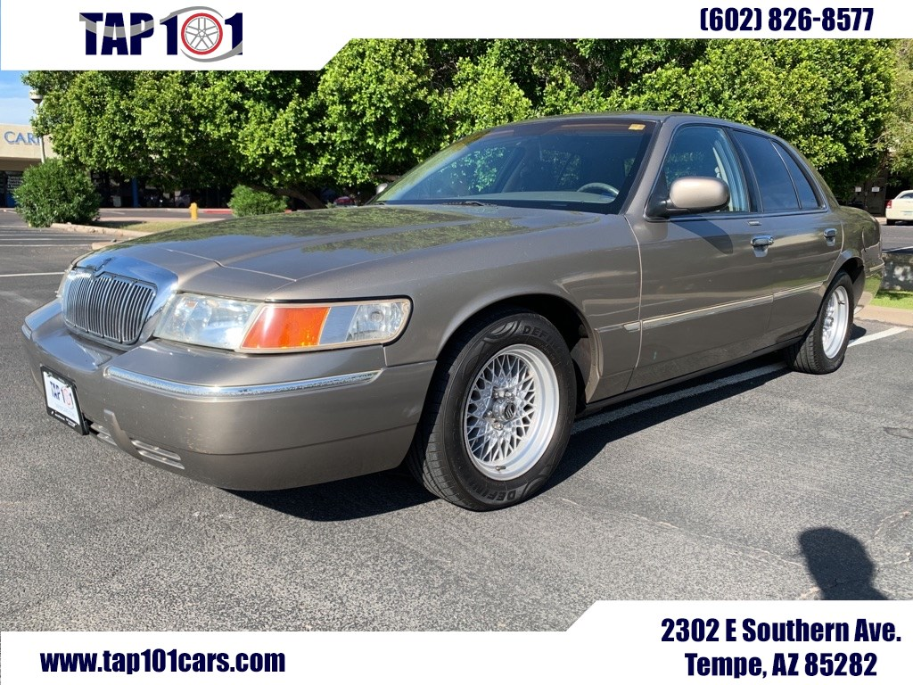 sold 2001 mercury grand marquis ls in tempe 2001 mercury grand marquis ls tempe auto plaza 101