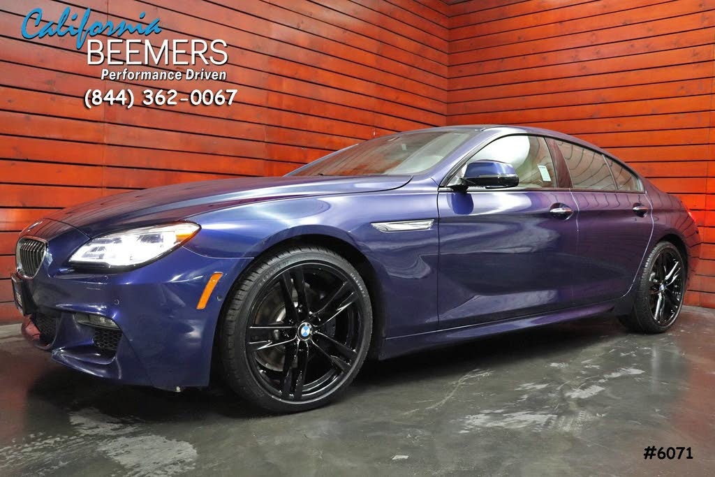 2017 BMW 6 Series 640i Gran Coupe M Sport Edition