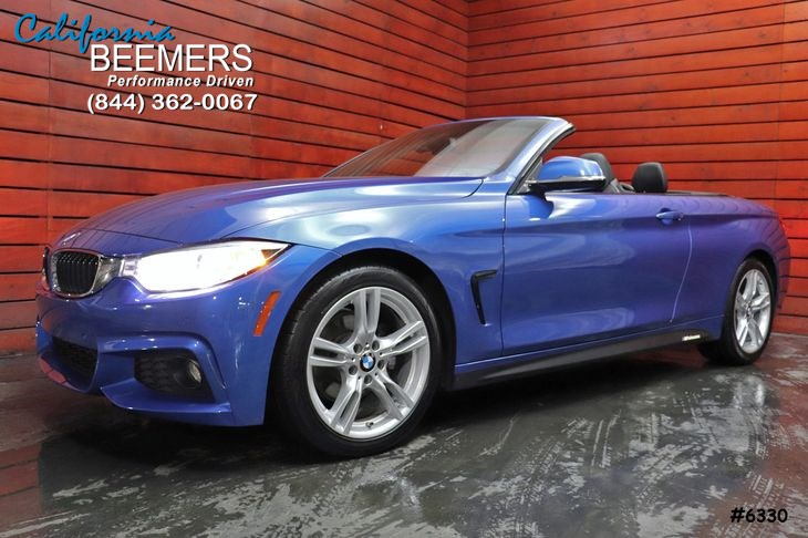 2017 BMW 4 Series 430i Convertible M Sport Pkg