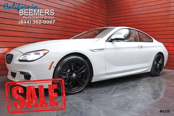 2016 BMW 6 Series 640i Coupe M Sport Pkg