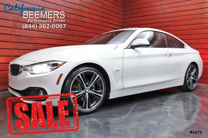 2018 BMW 4 Series 430i Coupe Sport Line