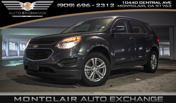 2017 Chevrolet Equinox LS (Backup Camera, Handsfree Bluetooth)